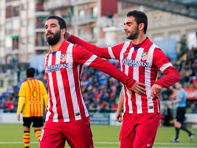 Result: Atletico dominate first leg of Copa tie