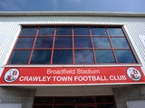 An external general view of the Broadfield Stadium before the pre season friendly match between Crawley Town and Crystal Palace at Broadfield Stadium on July 27, 2013
