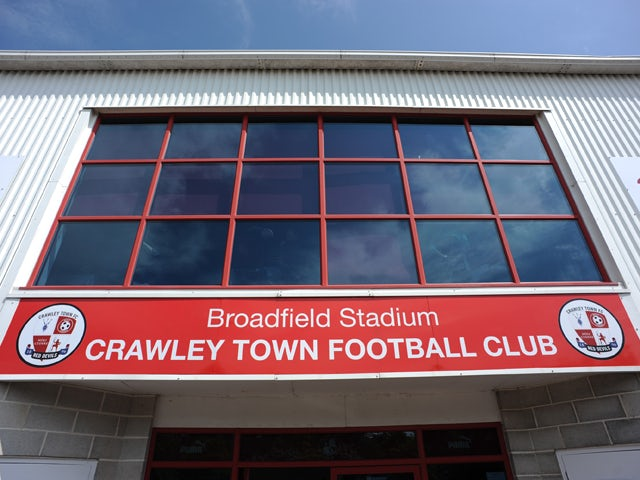 Crawley Town vs. Bristol Rovers abandoned