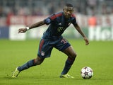 Bayern Munich's Austrian midfielder David Alaba plays the ball during the UEFA Champions League group D match Bayern Munich vs Viktoria Plzen in Munich, southern Germany, on October 23, 2013