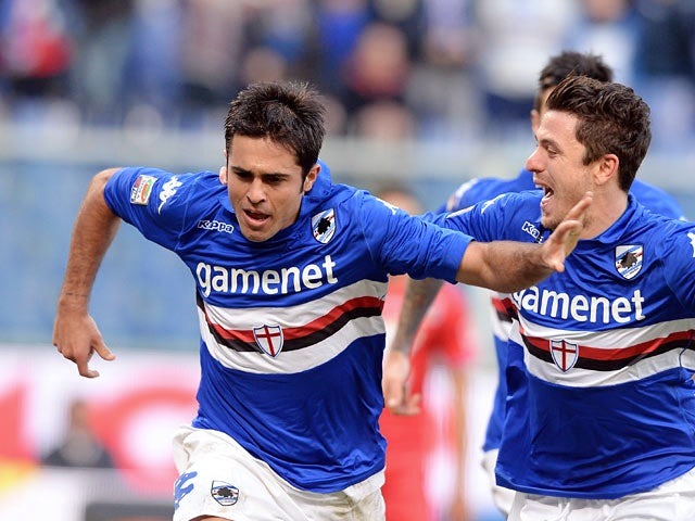 Result: Sampdoria ease past Catania