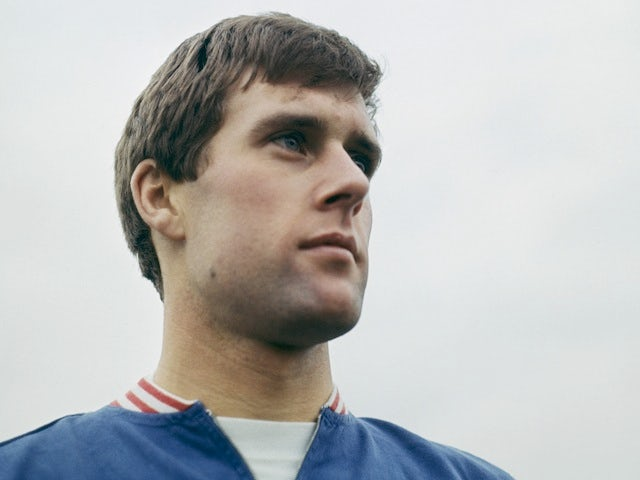 Geoff Hurst poses for a photo in 1966