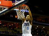Gerald Henderson #9 of the Charlotte Bobcats dunks the ball during their game at Time Warner Cable Arena on November 22, 2013