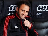 Giampaolo Pazzini of AC Milan sits on the bench prior to the Serie A match between AC Milan and Torino FC at San Siro Stadium on May 5, 2013