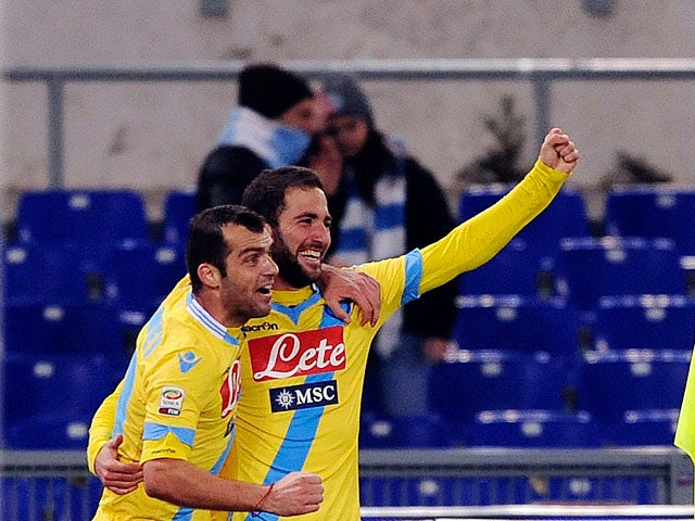 Live Commentary: Lazio 2-4 Napoli - as it happened