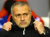 Chelsea manager Jose Mourinho prior to kick-off against Sunderland during their Premier League match on December 4, 2013