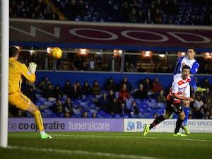 Blues three up at Blackburn