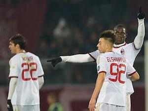 Team News: Balotelli, El Shaarawy start for Ajax clash