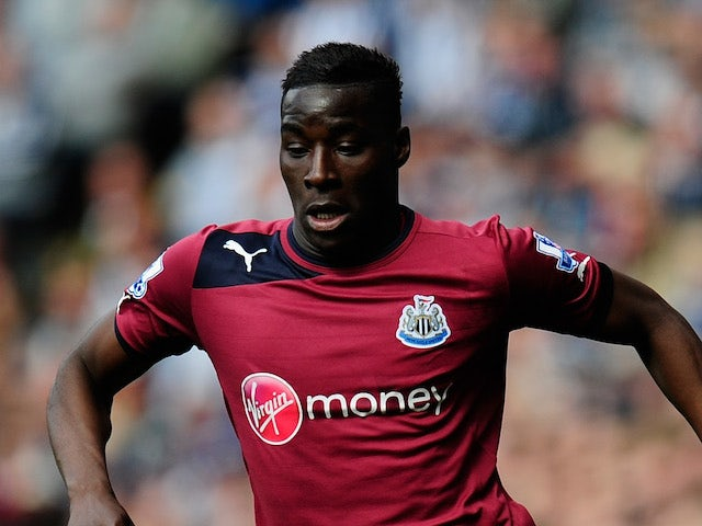 Massadio Haidara of Newcastle in action during the Barclays Premier League match between West Bromwich Albion and Newcastle United at The Hawthorns on April 20, 2013