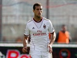 AC Milan's Matias Silvestre in action against Calcio Catania on December 1, 2013