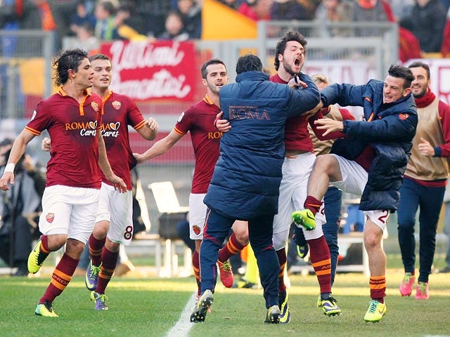 Result: Roma take all three points