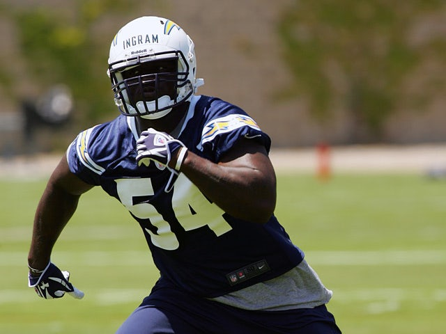 San Diego Chargers' Melvin Ingram in action during a minicamp workout on May 11, 2012