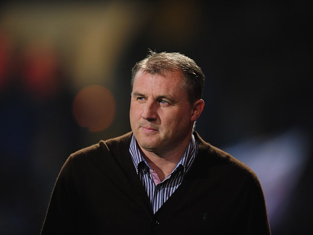 Ipswich Town manager Paul Jewell during the match against Derby on October 23, 2012