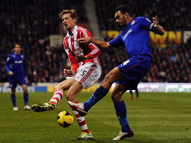 Result: Stoke, Cardiff share the spoils