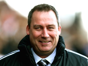 Fulham head coach Rene Meulensteen prior to kick-off against Aston Villa on December 8, 2013