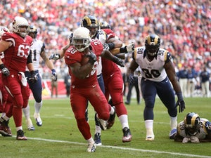 Half-Time Report: Cardinals lead Rams by 11