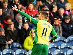 Half-Time Report: Norwich, Swansea level