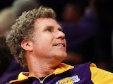 Actor Will Ferrell smiles as the Los Angeles Lakers take on the Oklahoma City Thunder in Game Four of the Western Conference Semifinals in the 2012 NBA Playoffs on May 19. 2012