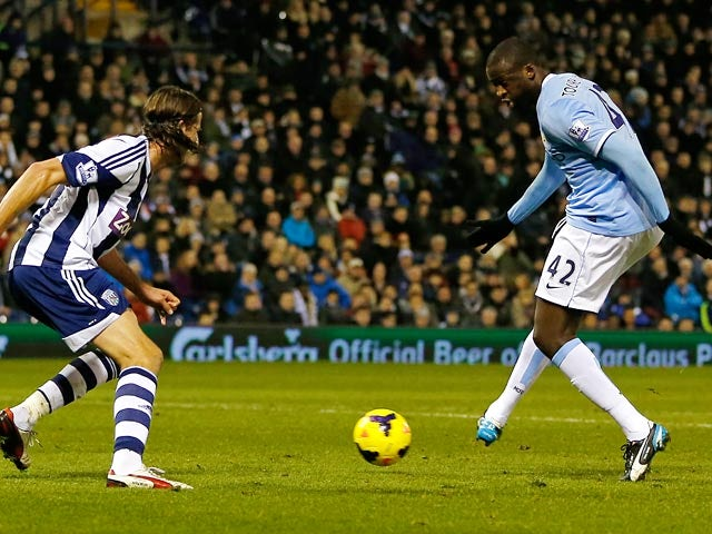 Result: City edge out West Brom