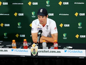 Cook feeling relaxed