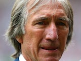 West Ham United legend Billy Bonds receives a life time achievement award during the Barclays Premier League match between West Ham United and Cardiff City at the Bolyen Ground on August 17, 2013