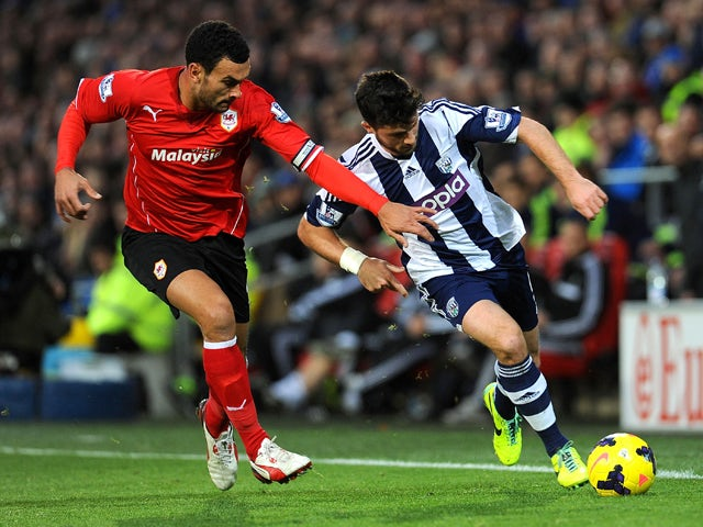 Result: Cardiff edge out West Brom