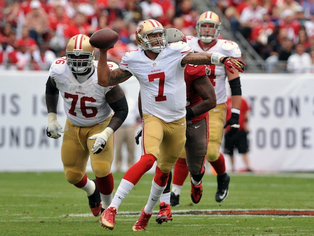Result: 49ers ease to win over Buccaneers