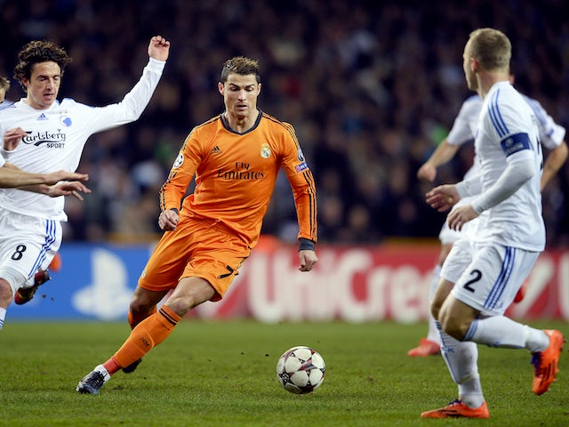 Result: Real Madrid ease past Copenhagen