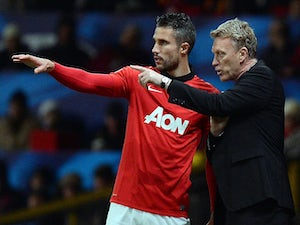 RVP out for month with thigh injury