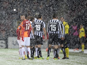 Juventus, Galatasaray to resume tomorrow