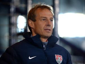 USA manager Jurgen Klinsmann during the International Friendly match between Scotland and USA at Hampden Park on November 15, 2013