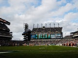 A general view of the Philadelphia Eagles and Washington Redskins game at Lincoln Financial Field on November 17, 2013