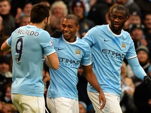 Pellegrini: 'Fernandinho out for three to four weeks'