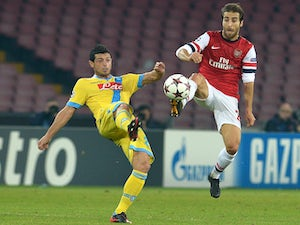 Live Commentary: Napoli 2-0 Arsenal - as it happened