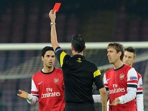 Wenger bemoans 'harsh' red card