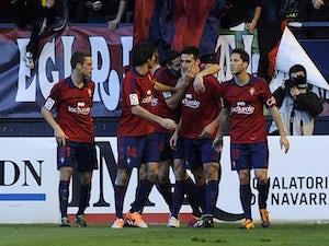 Osasuna edge out Real Betis