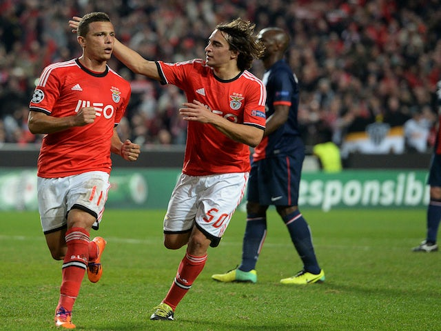 Result: Benfica beat PSG