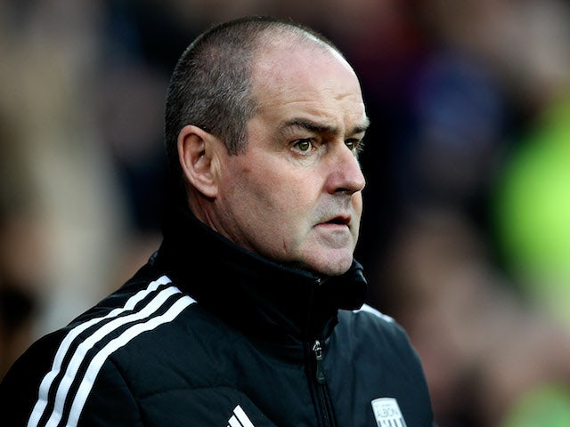 West Brom manager Steve Clarke looks on prior to the Premier League match between Cardiff City and West Bromwich Albion at Cardiff City Stadium on December 14, 2013