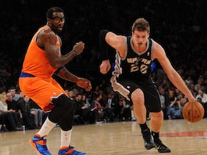 Splitter out for two games