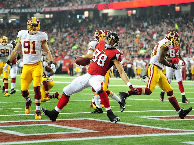 Result: Falcons edge past Redskins