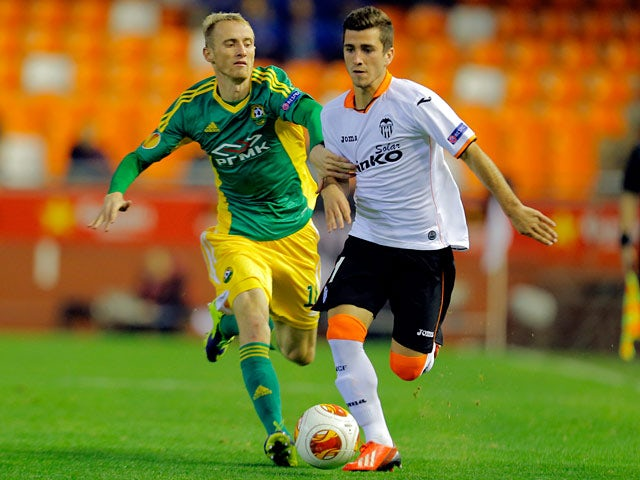 Result: Valencia, Kuban draw