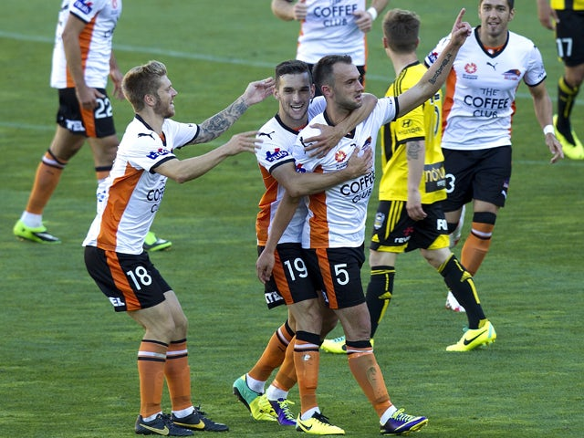 Result: Leaders Brisbane edge past Wellington