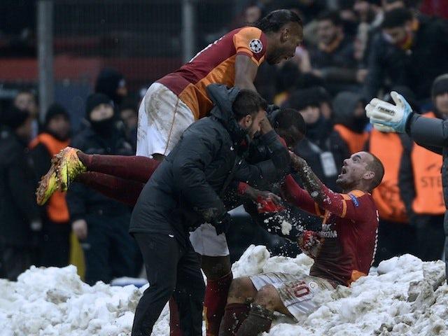 Result: Galatasaray progress at Juve's expense