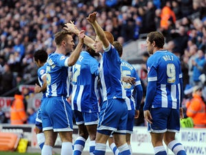 Wigan hit Birmingham for four