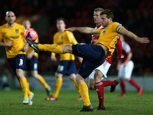 League Two roundup: Oxford slip up