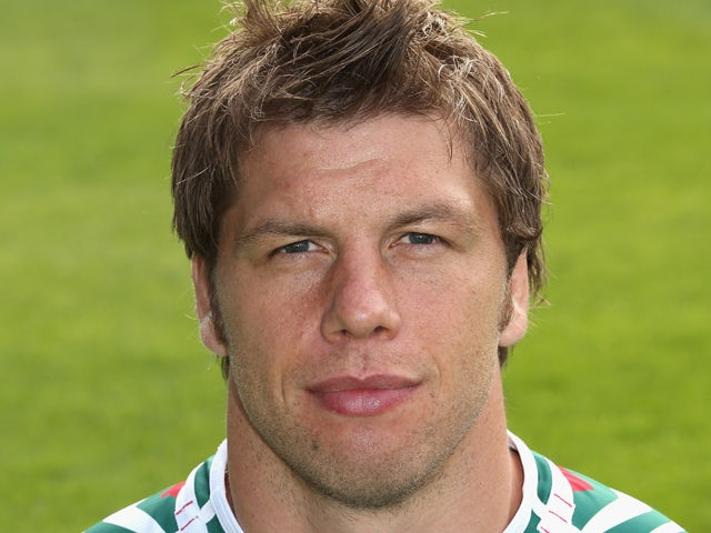 Brett Deacon of Leicester Tigers poses for a portrait during the photocall held at Welford Road on August 24, 2012