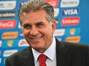 Iran national football team coach, Carlos Queiroz, arrives for the final draw of the Brazil 2014 FIFA World Cup, in Costa do Sauipe, Bahia state, Brazil, on December 6, 2013