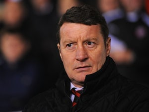 Chesterfield sack manager Danny Wilson