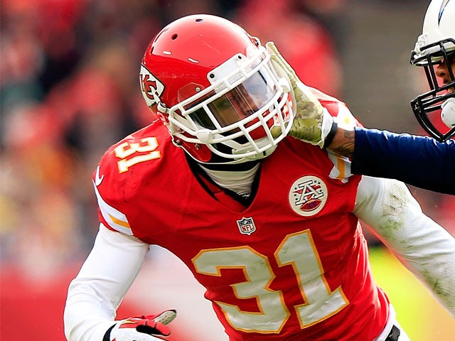 Marcus Cooper #31 of the Kansas City Chiefs in action against San Diego Chargers on November 24, 2013