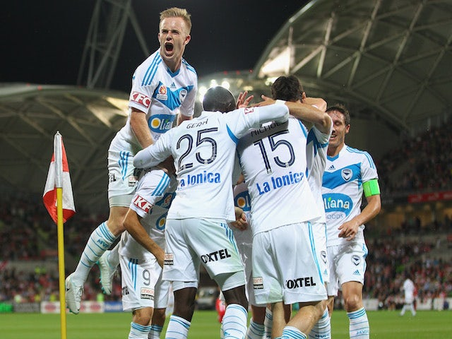 Result: Victory dominate 10-man Heart to win Melbourne derby